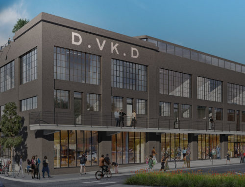 Construction begins on Denham Building project in Parkside
