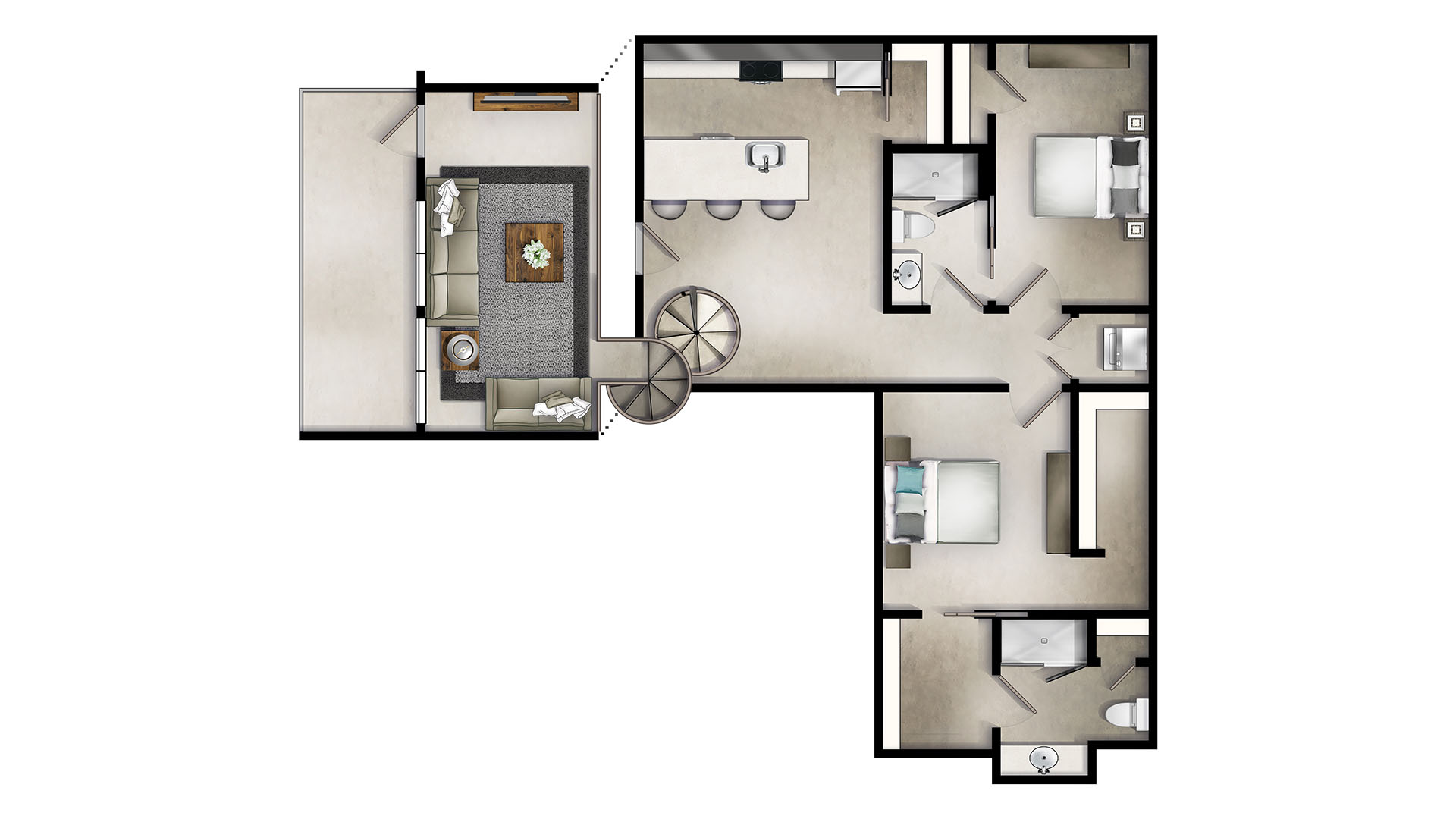Floor Plans – The Denham Building