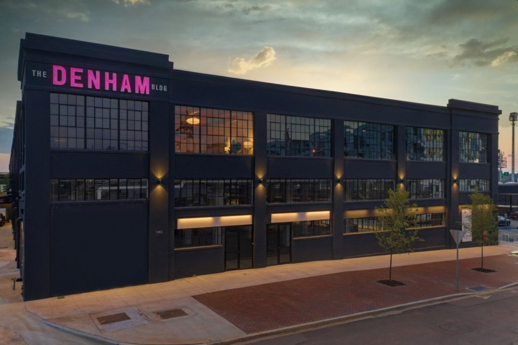 Exterior view of the Denham Building in Birmingham, AL